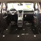 We remove all seats for a leather restyling install