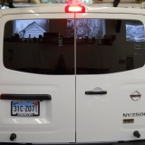 Added windows to Nissan NV